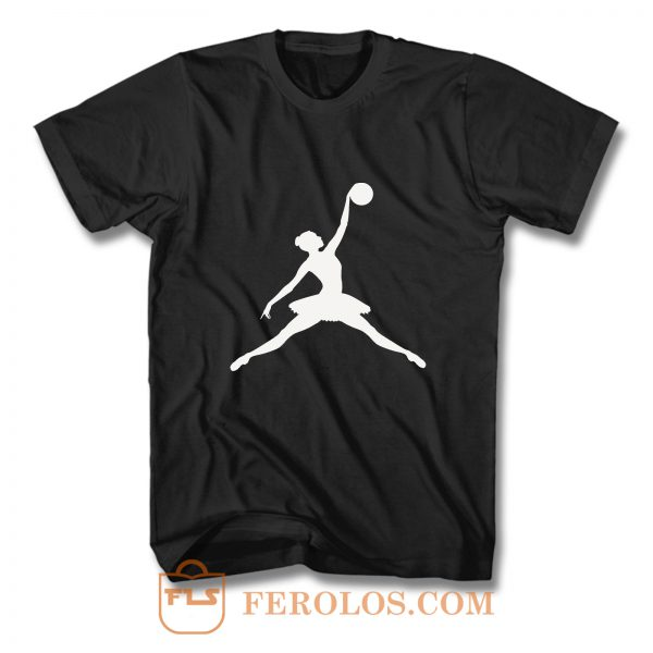 Ballet Jump Air Logo T Shirt