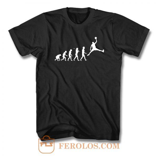 Basketball Evolution Slam Dunk T Shirt