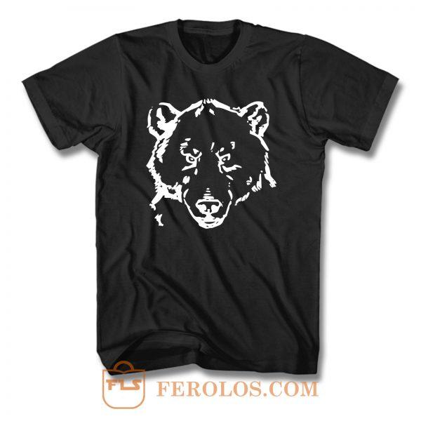 Bear Wildlife T Shirt