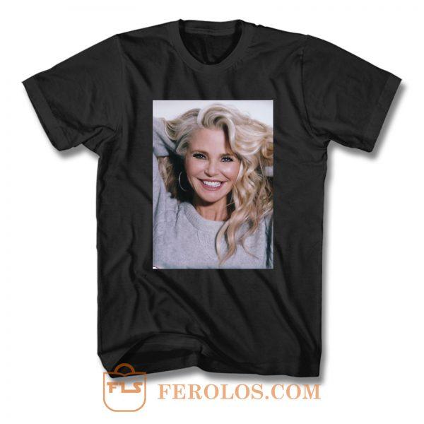Christie Brinkley Smile T Shirt