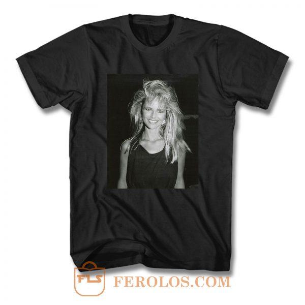Christie Brinkley Supermodels T Shirt