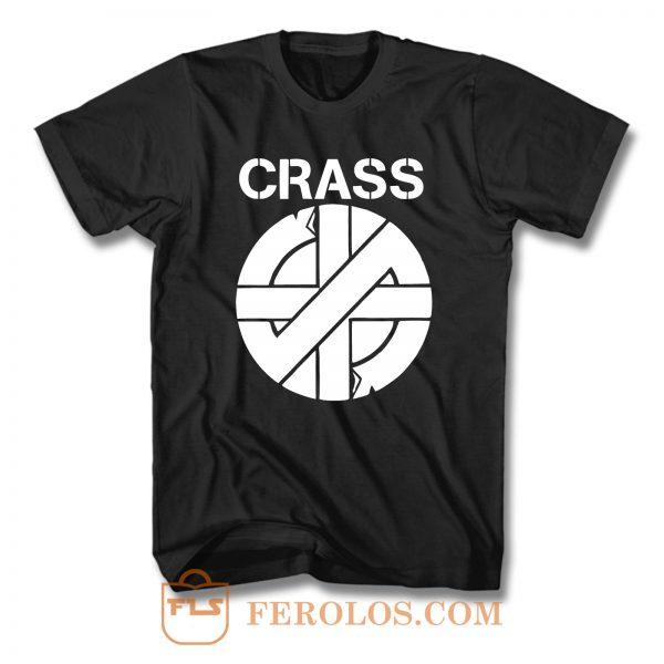 Crass Logo No War T Shirt