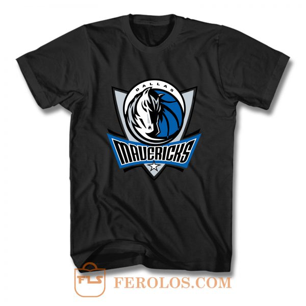 Dallas Mavericks Logo T Shirt