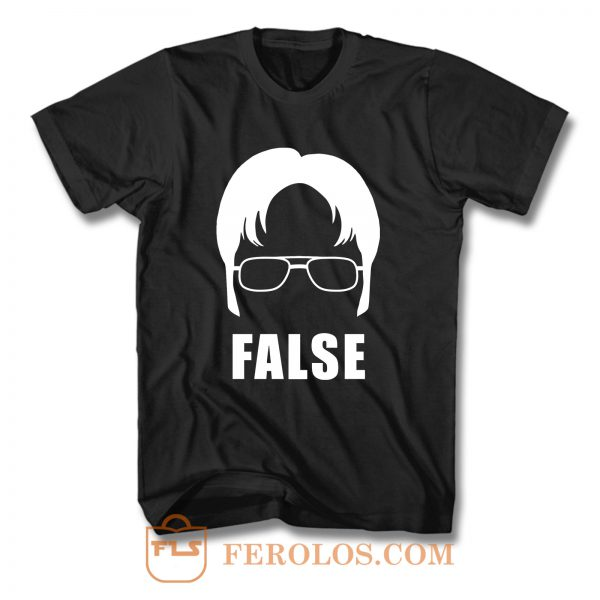 Dwight False Face T Shirt