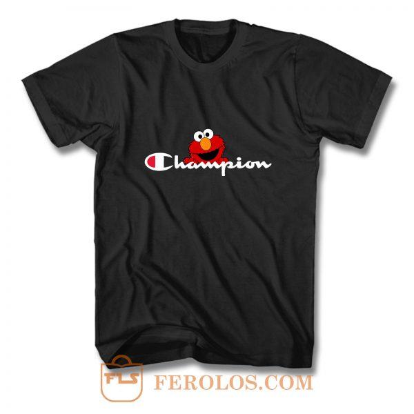 Elmo Champion Logo T Shirt