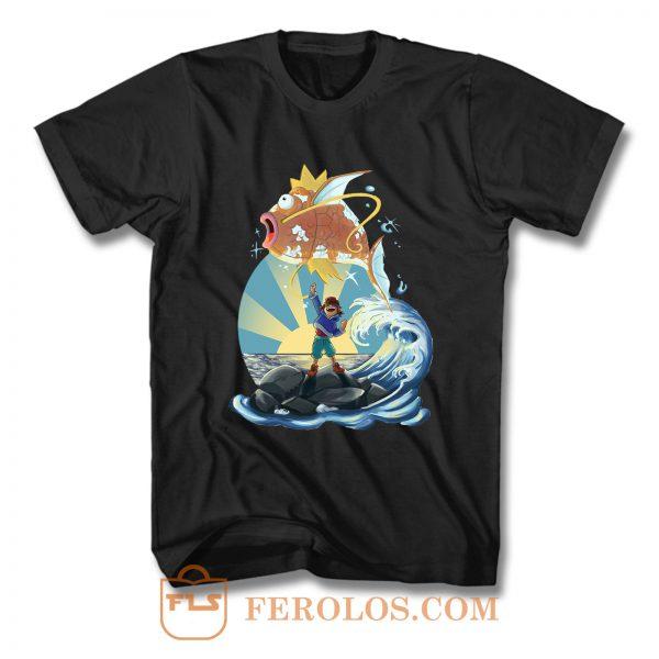 Free Magikarp Pokemon Movie T Shirt