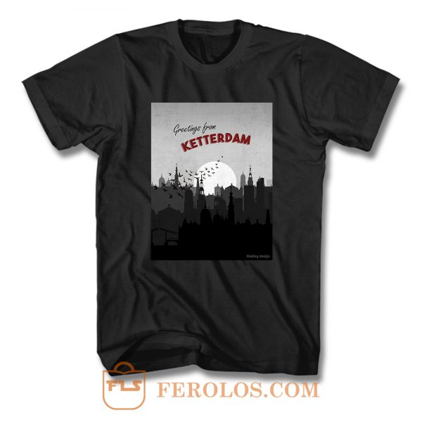 Greetings from Ketterdam Six of Crows Postcard T Shirt