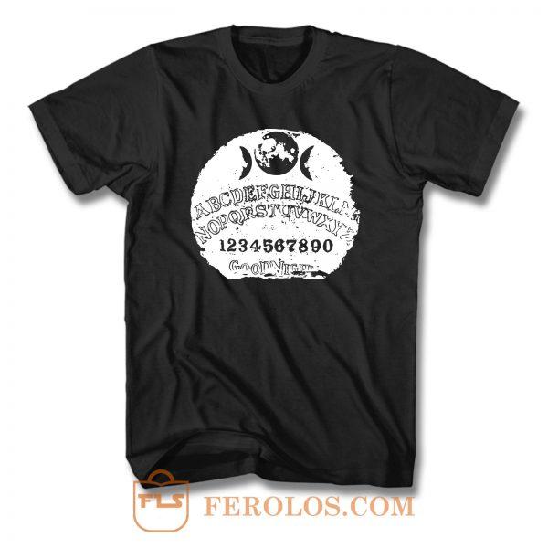 Grunge Ouija Board Satanism Occultism Lucifer Satan T Shirt