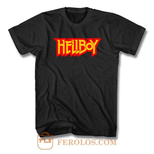 Hellboy Logo T Shirt