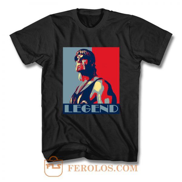 Hulk Hogan Wrestling Legend T Shirt