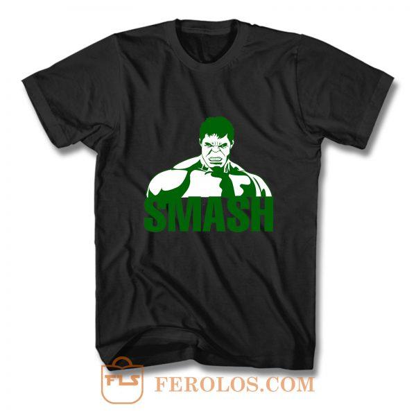 Hulk Smash Superhero T Shirt