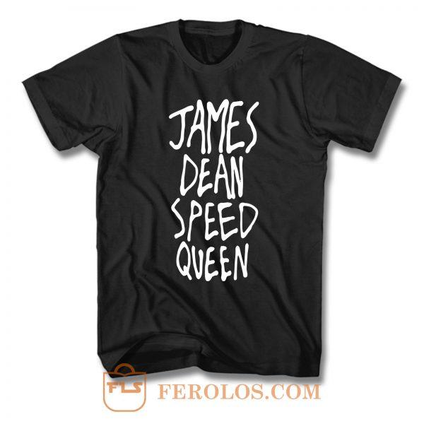 James Dean Speed Queen F T Shirt