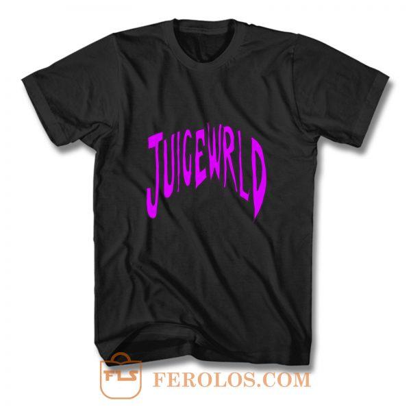 Juice W R L D Rapper Logo T Shirt