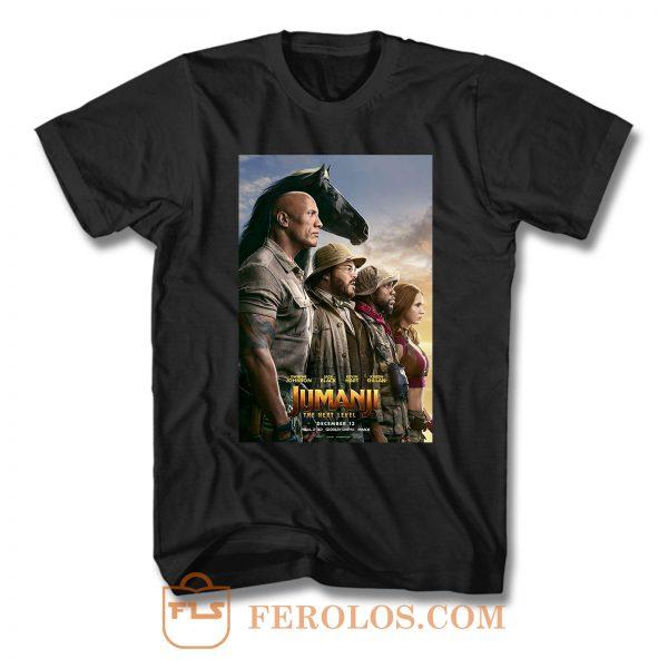 Jumanji The Next Level Squad T Shirt