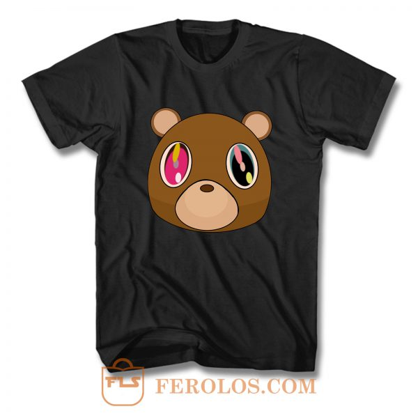 Kanye West Dropout Bear Logo T Shirt