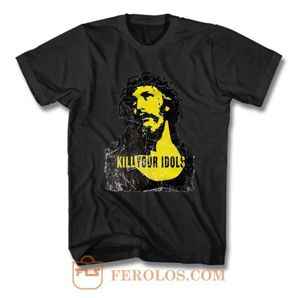 Kill Your Idols Retro T Shirt