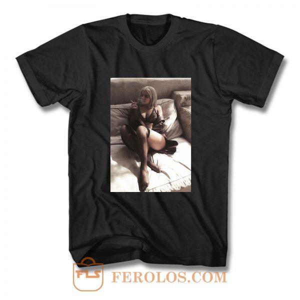 Kylie Jenner Sexy Underwear T Shirt