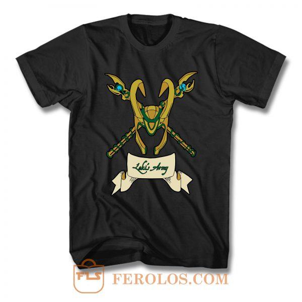 Lokis Army F T Shirt