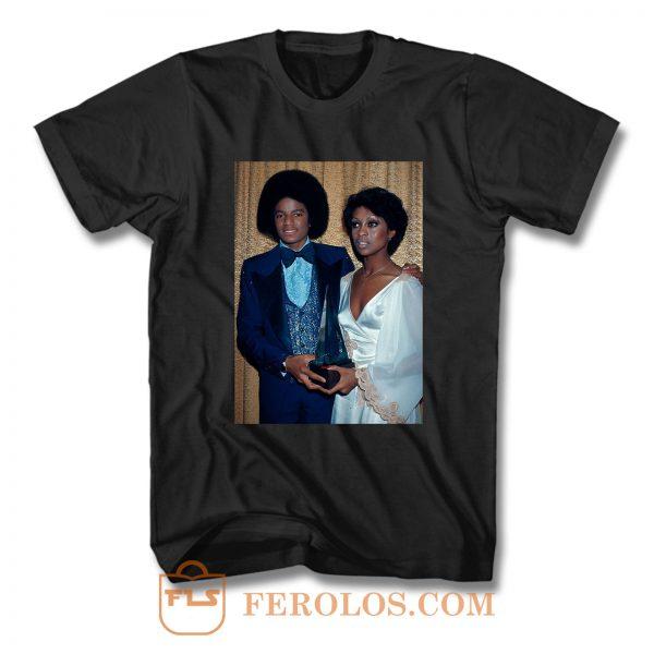 Lola Falana and Michael Jackson T Shirt