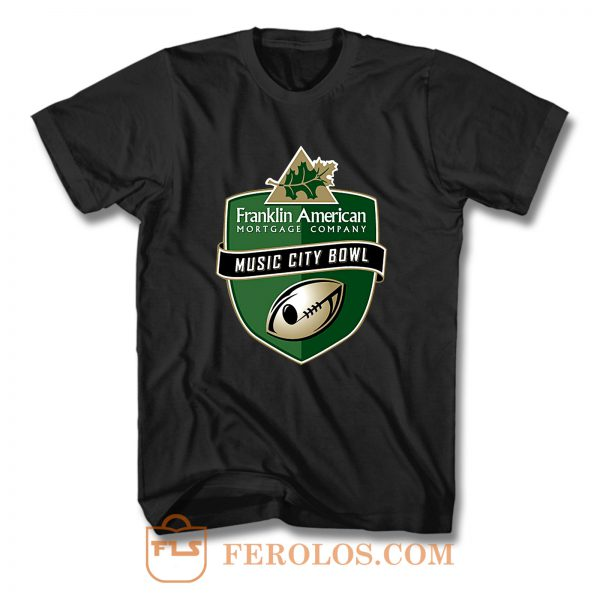 Music City Bowl Franklin America T Shirt