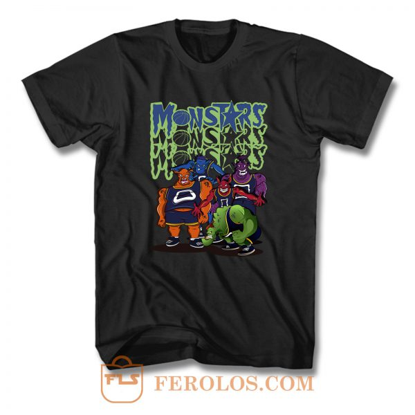 NBA Monstars Space Jam 2 T Shirt