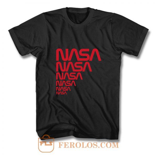 Nasa Nasa Nasa Logo T Shirt