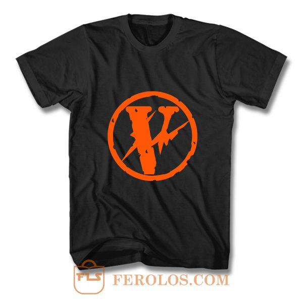Vlone X Fragment Logo T Shirt