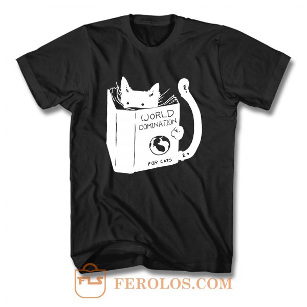World Domination Cats T Shirt