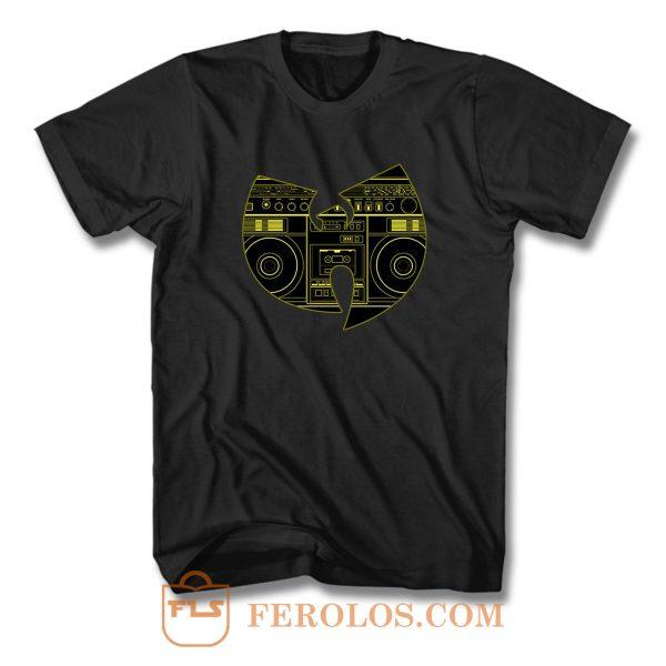 Wu Tang Sound Tape Clan T Shirt