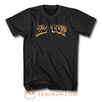 ZZ Top Logo Star T Shirt