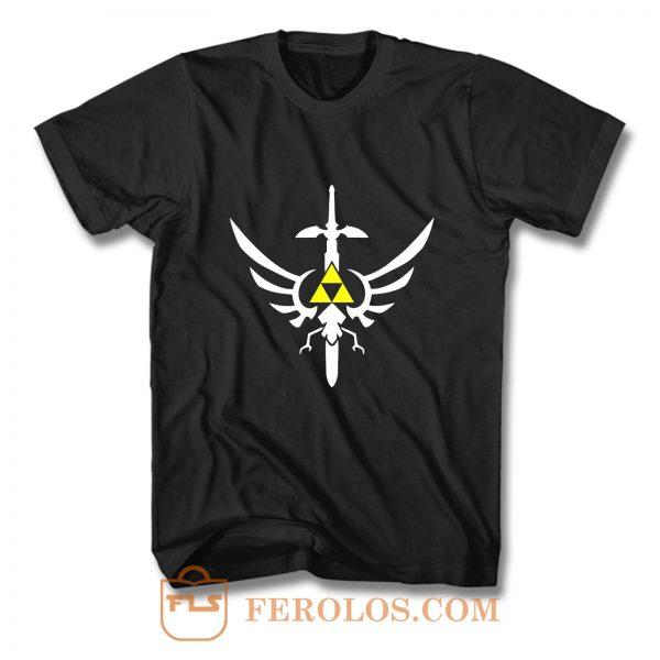 Zelda Triforce Logo T Shirt