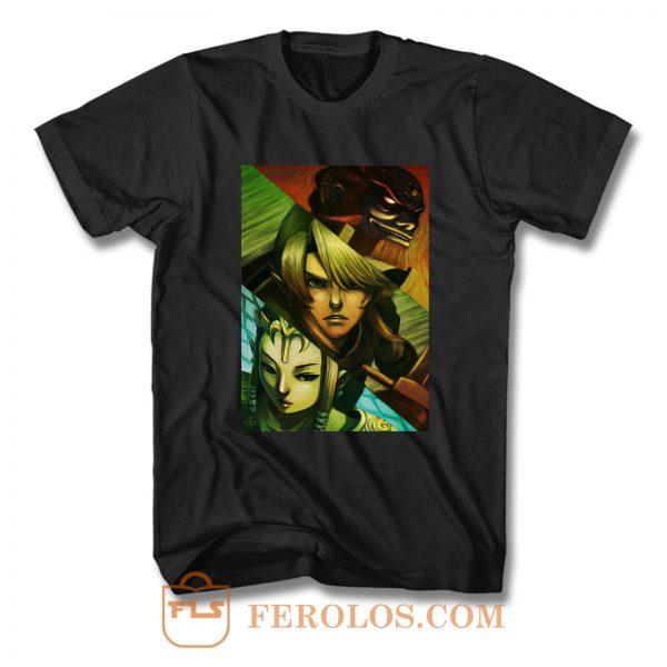 Zelda Triforce Squad T Shirt