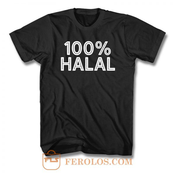 100 Halal T Shirt