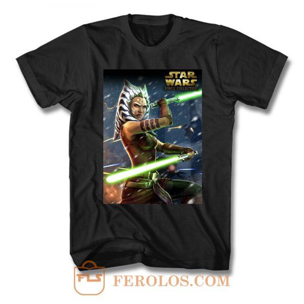Ahsoka Tano Star Wars T Shirt