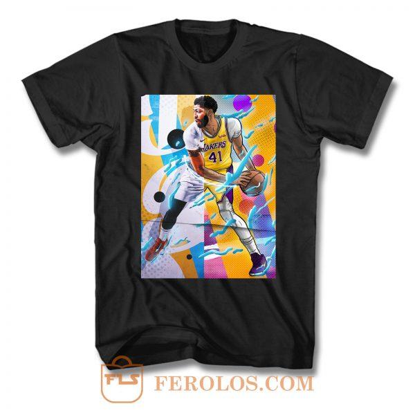 Anthony Davis Los Angeles Lakers T Shirt