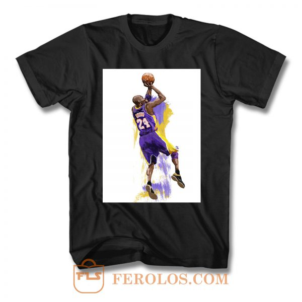 Basketball Star Kobe Bryant T Shirt
