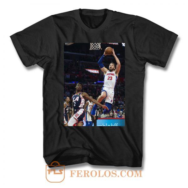 Blake Griffin Dunk Pistons T Shirt