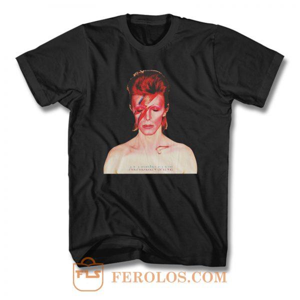 Bowie Punk T Shirt
