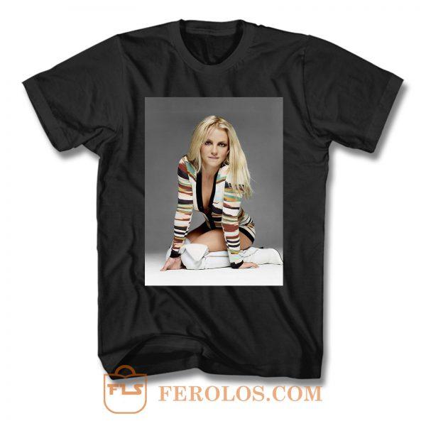 Britney Spears Portrait Photo T Shirt