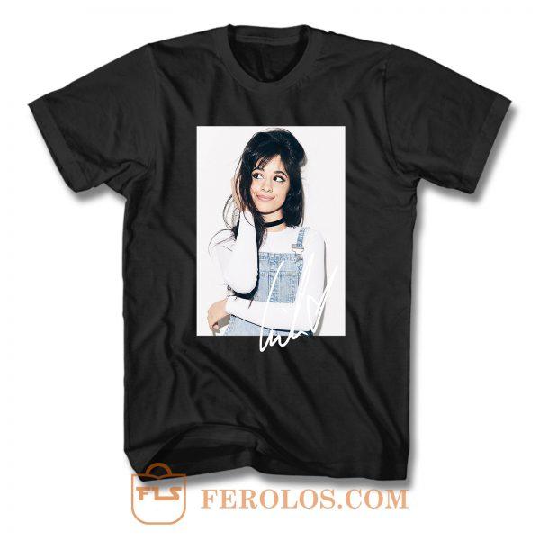 Camila Cabello Fifth Harmony Signature T Shirt