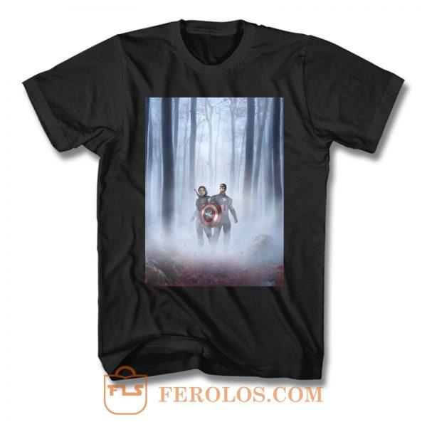 Captain America Frozen Parody T Shirt