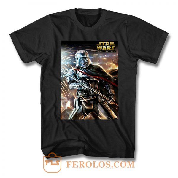 Captain Phasma Star Wars T Shirt
