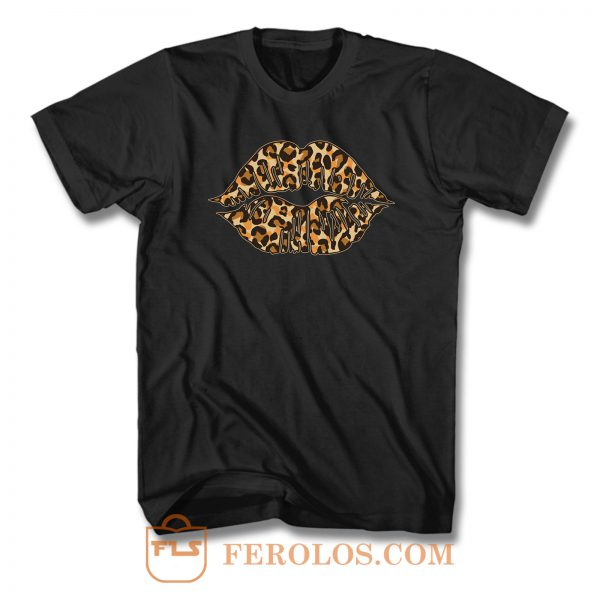 Cheetah Lips T Shirt