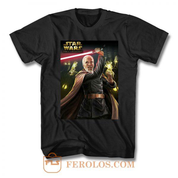 Count Dooku Star Wars T Shirt