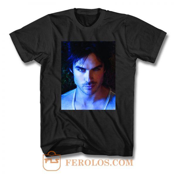 Damon Salvatore Vampire Diaries T Shirt