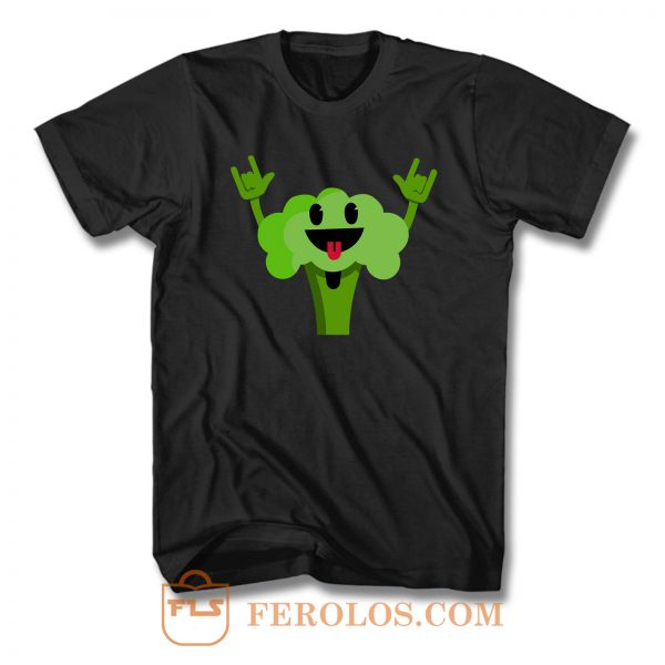 Dancing Broccoli T Shirt