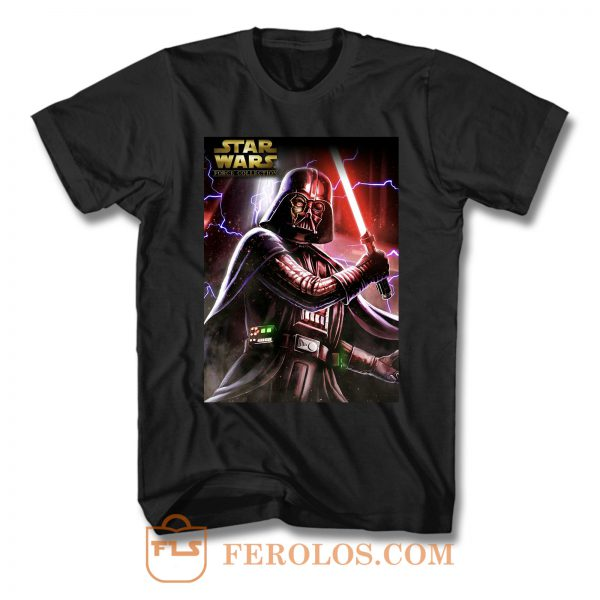 Darth Vader Star Wars Action T Shirt