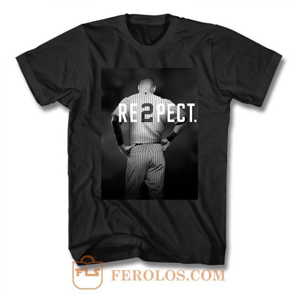 Derek Jeter Respect T Shirt