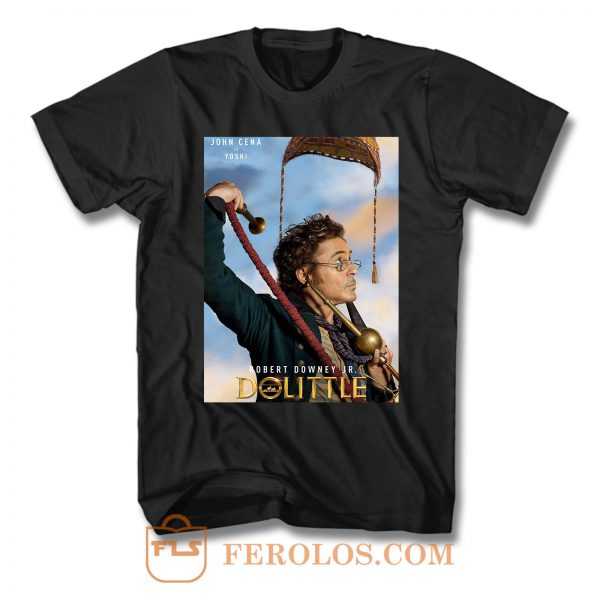 Dolittle Cover Movie T Shirt