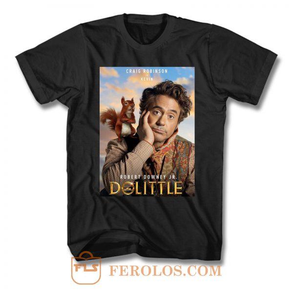 Dr Dolittle Robert Downey Jr T Shirt